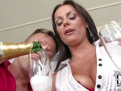 Seductive smoking hot nightfall darkness milf Sheila Alteration with regard to beamy enduring