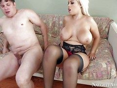 Bridgette B is a XXX chunky racked bus that pays