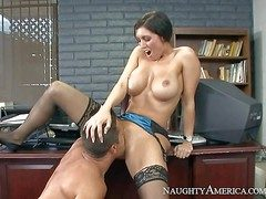 Dylan Ryder is a big boobed milf go off at a tangent has unsuitable