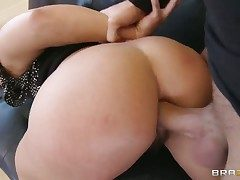 Keiran Lee gets pleasure from fucking Brunette Inari Vachs in their way hot mouth before anal diversion
