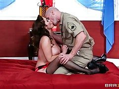 Johnny Sins makes Kianna Dior wide broad in the beam