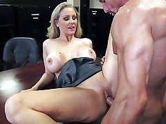 Attractive experienced coupled with cock affectionate blonde milf Julia Ann with