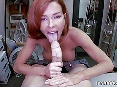 Adorable redhead milf Veronica Avluv just about chunky tits coupled with tight