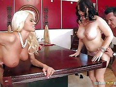 Casey Cumz and Nikita Von James are sinfully crestfallen wives